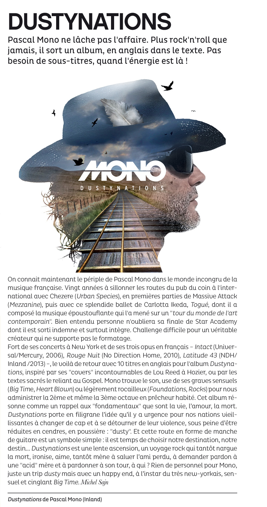 La Strada - Pascal Mono - Dustynations